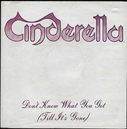 Cinderella - Don't Know What You Got (Till It's Gone)
