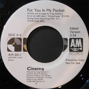 Cinema - Put You In My Pocket