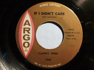 Clarence 'Frogman' Henry - If I Didn't Care / Takes Two To Tango