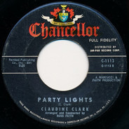 Claudine Clark - Party Lights / Disappointed
