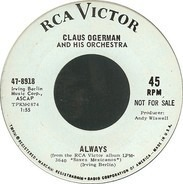 Claus Ogerman's Orchestra - Always