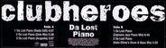 Clubheroes - Da Lost Piano
