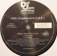 CNN (Capone-N-N.O.R.E.), Capone -N- Noreaga - People Know (La La La)
