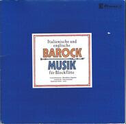 Conrad Steinmann , Jordi Savall & Hopkinson Smith - Italienische Und Englische Barock Musik Für Blockflöte