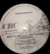 Curtis Mayfield - Baby It's You