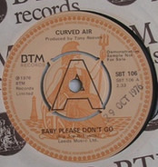 Curved Air - Baby Please Don't Go