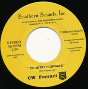 CW Ferrari - Country Highways