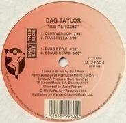 Dag Taylor - It's Alright
