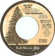 Dan Fogelberg - Believe In Me