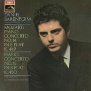 Mozart / Daniel Barenboim - Piano Concerto No. 14 In E-Flat, K. 449;  Piano Concerto No. 15 In B-Flat, K. 450