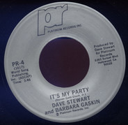 Dave Stewart & Barbara Gaskin - It's My Party