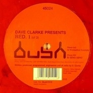 Dave Clarke - Red. 1 (of 3)