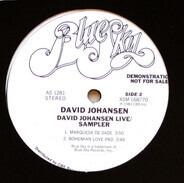 David Johansen - David Johansen Live / Sampler