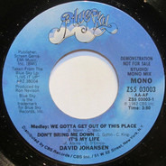 David Johansen - Medley: We Gotta Get Out Of This Place / Don't Bring Me Down / It's My Life