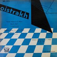 """David Oistrakh , Vladimir Yampolsky , Lev Oborin - Tartini: Sonata in G Minor (""""Devil's Trill"""") / Beethoven: Sonata in F Major Op. 24 (Spring) / Schub"""