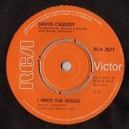 David Cassidy - I Write The Songs