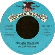 David Rogers - You And Me Alone / Time For Lovin'