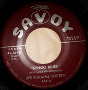 Dee Williams Sextette - Bongo Blues