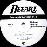 Defari - Lowland's Anthem Pt. 1 / Juggle One (For The DJ's)