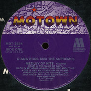 Diana Ross & The Supremes, The Supremes - Medley Of Hits