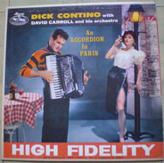 Dick Contino With David Carroll & His Orchestra - An Accordion In Paris