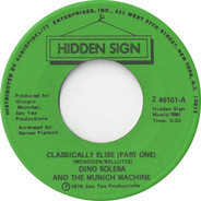 Dino Solera And Munich Machine - Classically Elise