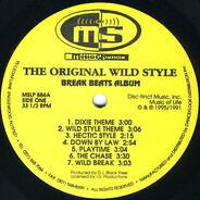 DJ Black Steal - The Original Wild Style
