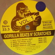 DJ Rectangle - Gorilla Beats N' Scratches Vol. 1