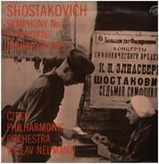 Dmitri Shostakovich - The Czech Philharmonic Orchestra , Václav Neumann - Symfonie Č. 7 'Leningradská' / Symfonie Č. 9