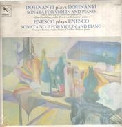 Dohnanyi / Enesco - Sonata for Violin & Piano / - No. 2 -