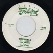 Don Barber And The Dukes - Henrietta / I'll Be Blue