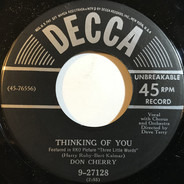 Don Cherry - Thinking Of You / Here In My Arms