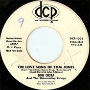 Don Costa And The Shimmering Strings - The Love Song Of Tom Jones