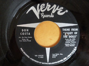Don Costa - Theme From 'Valley Of The Dolls' / Up, Up & Away