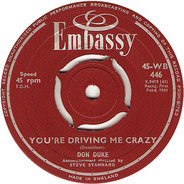 Don Duke - You're Driving Me Crazy / Gee Whiz It's You