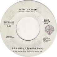 Donald Fagen - I.G.Y. / Ruby Baby