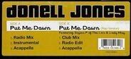 Donell Jones - put me down