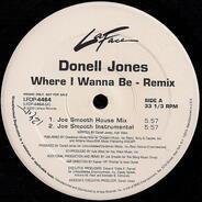 Donell Jones - Where I Wanna Be (Remix)