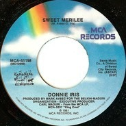 Donnie Iris - Sweet Merilee / Back On The Streets