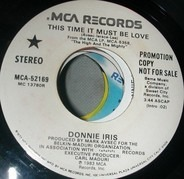 Donnie Iris - This Time It Must Be Love