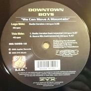 Downtown Boys - We Can Move A Mountain