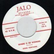 Eddie Fontaine - Where Is De Woman