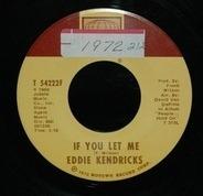 Eddie Kendricks - If You Let Me / Just Memories