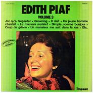 Edith Piaf - Edith Piaf Volume 3