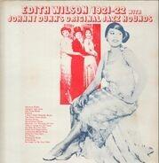 Edith Wilson With Johnny Dunn's Original Jazz Hounds - Edith Wilson / 1921-22
