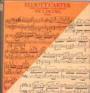 Elliott Carter , Paul Jacobs - Night Fantasies · Piano Sonata