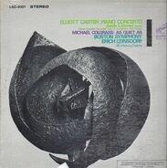 Elliott Carter / Michael Colgrass - Jacob Lateiner , Boston Symphony Orchestra , Erich Leinsdorf - Piano Concerto / As Quiet As