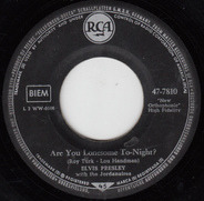 Elvis Presley - Are You Lonesome Tonight? / I Gotta Know