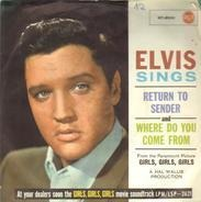 Elvis Presley - Return To Sender / Where Do You Come From