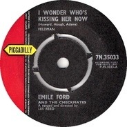 Emile Ford & The Checkmates - I Wonder Who's Kissing Her Now
